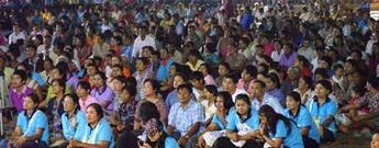 Jesus Festival in Thailand