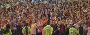 Jesus Festival in Thailand, Mahasarakham, 2010