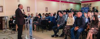 Jesus Festival in Ivano-Frankivsk (Ukraine) with pastor Henry Madava