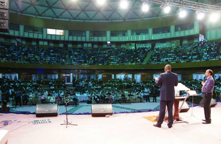 Day 1 of Glory Filled Pakistan conference in Islamabad