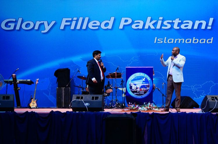 The start of day 2 of Glory Filled Pakistan Conference