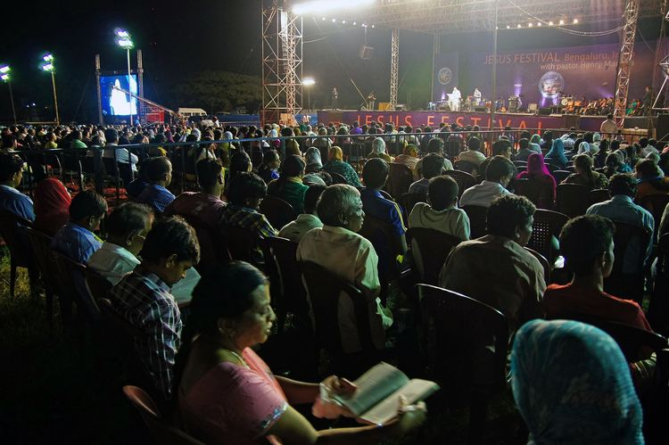Jesus Festival in India, Bengaluru. Day 2