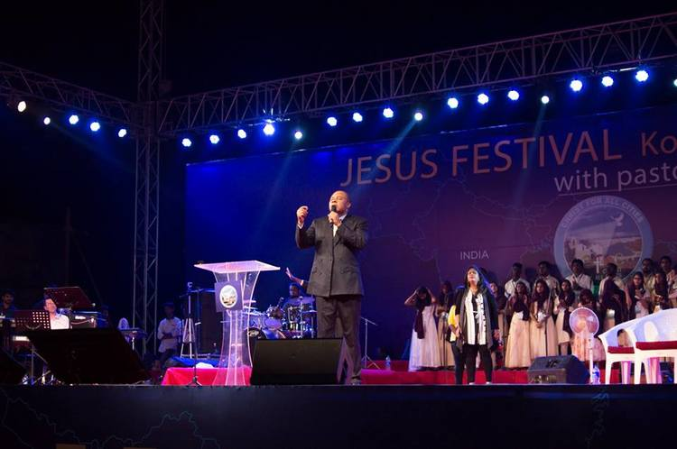 We expect even more miracles tomorrow, on the final day of Jesus Festival in India!
