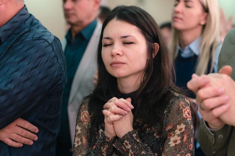 Второй день Фестиваля Иисуса в Ивано-Франковске начался с собрания для пасторов и служителей.
